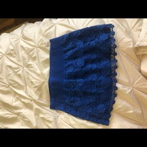 Abercrombie & Fitch Skirts - Abercrombie royal blue skirt